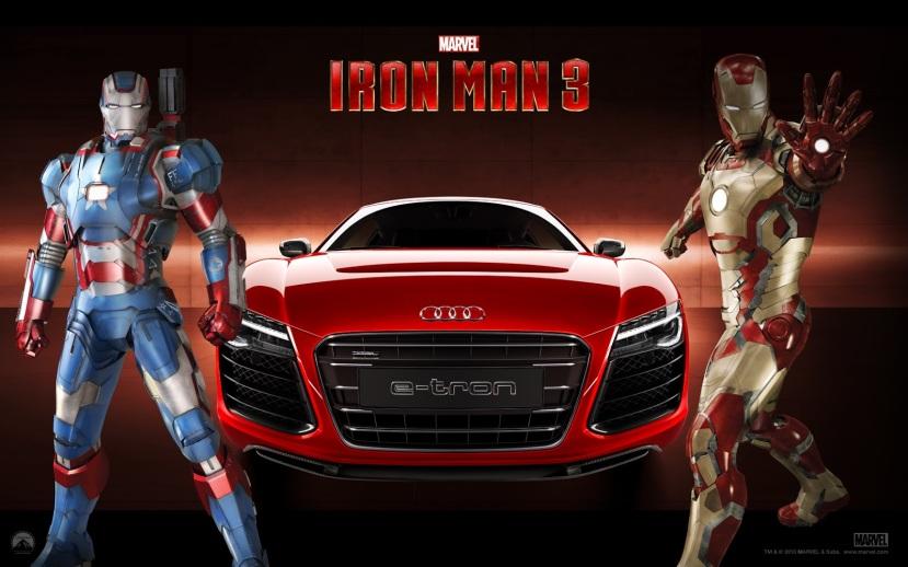 Iron Man 3 Audi