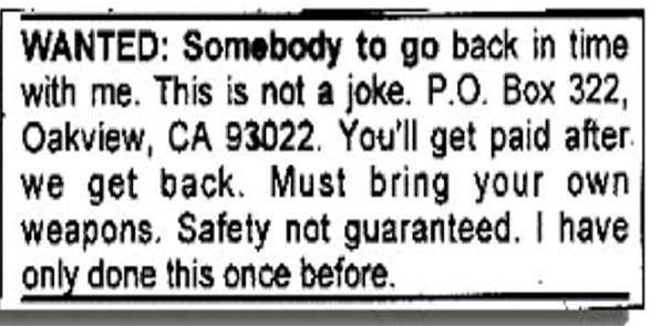 The original ad from 1997