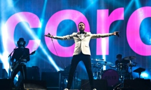 Kasabian tom meighan headline Glastonbury 2014
